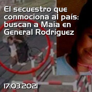 Il rapimento che scuote il paese: Maia ricercato nel generale Rodriguez